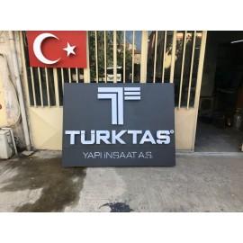 Türktaş-Işıklı Giriş Tabela