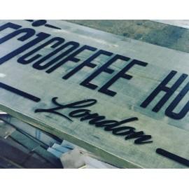 Coffee House Eskitme Cephe Tabela