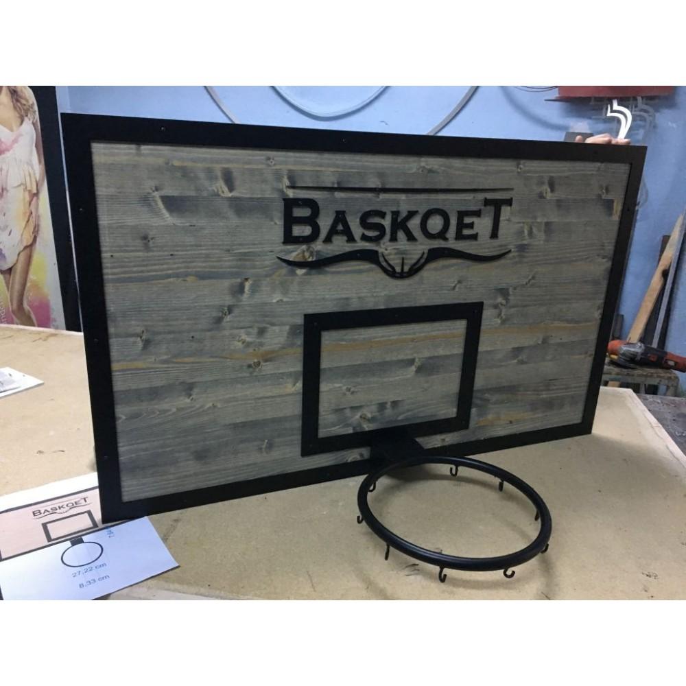 Ahşap Basket Potası