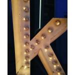 Ampullü Metal Kutu Harf