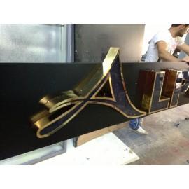 Fileli Paslanmaz Harf