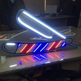 Neonled  Tabela-Barber Shop Ustura